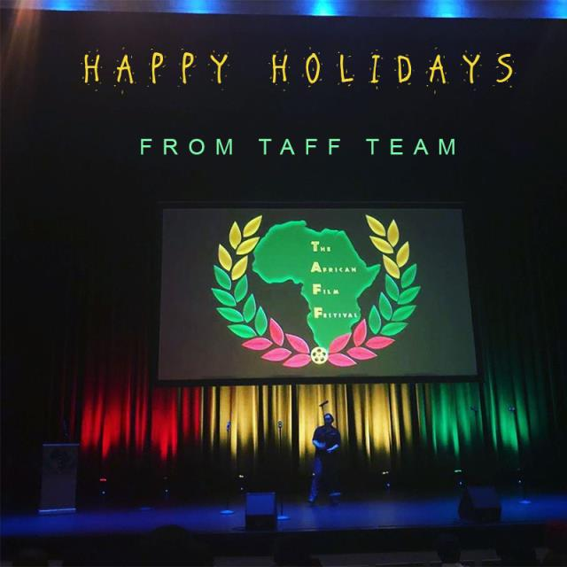 HAPPY HOLIDAYS FROM TAFF TEAM